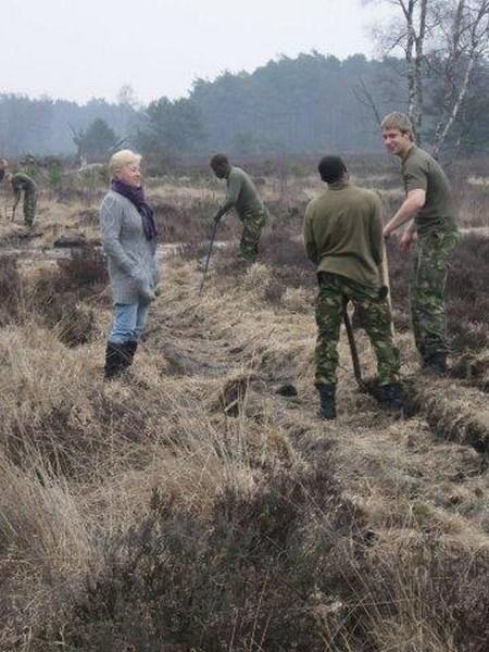 Hulp van het leger in het kader van NL-doet